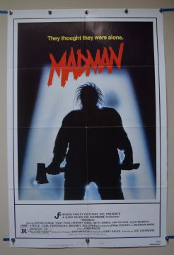 Madman (1981) Horror Film Poster  - US One Sheet Poster